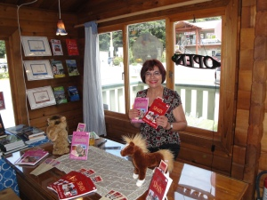 Darlene at Bluewaters Books