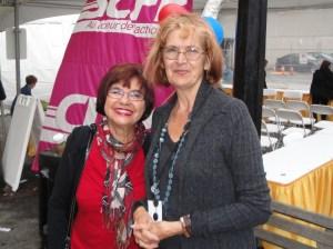 Shirley Roll Tucker & me