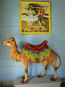 Carousel camel