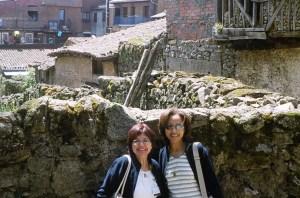 Darlene & Sheila in Spain