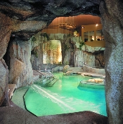 grotto mineral pool