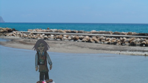 Flat Ruthie loved the Mediterranean