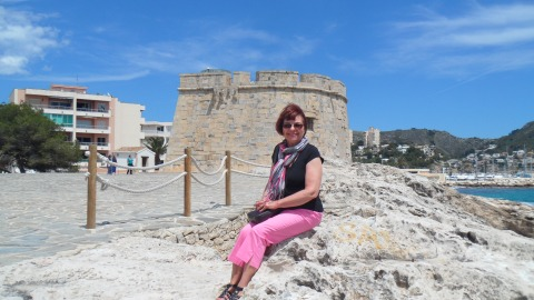 Ancient tower at Moraira