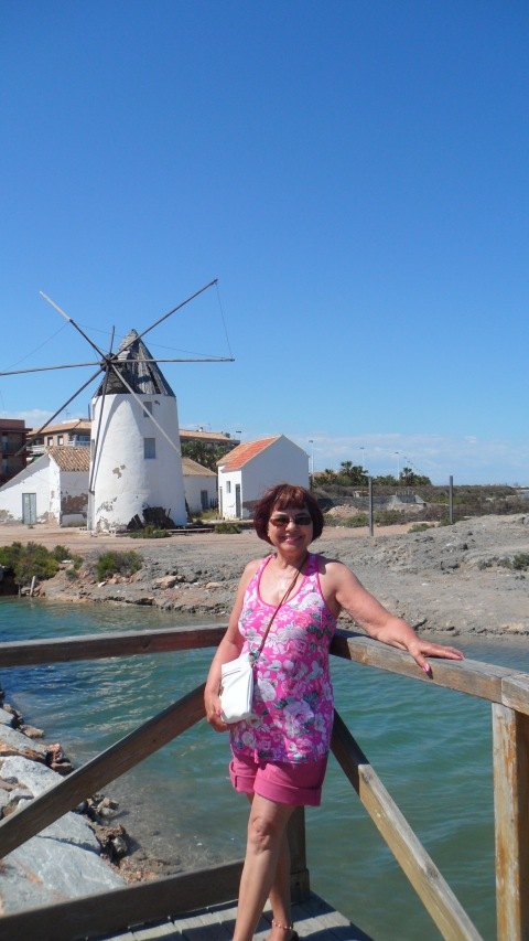 Historic windmill at Lo Pagan