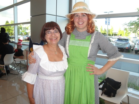 Elizabeth Bennet and Anne of Green Gables
