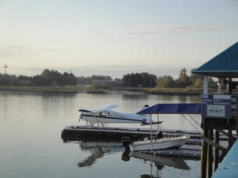 Float plane that took me to see my daughter