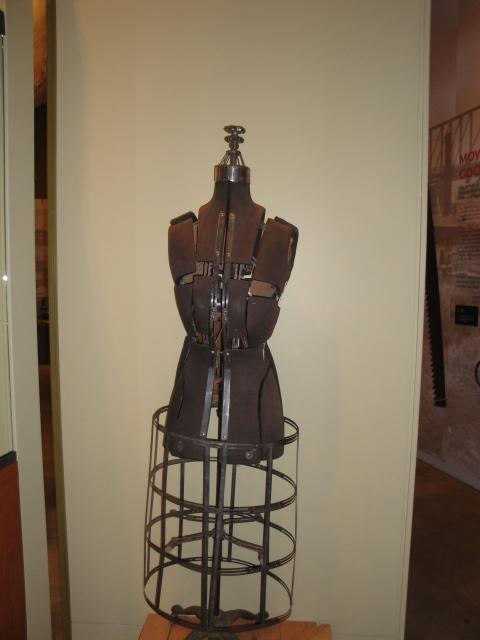 A dressmaker's dummy