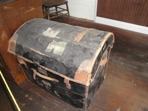 How many miles has this trunk travelled?