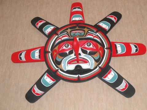 Amazing west coast First Nations art