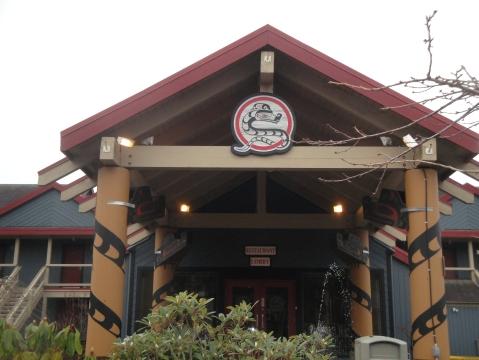 Entrance to Tin Wis Resort