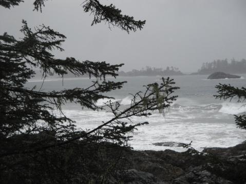 A typical west coast storm