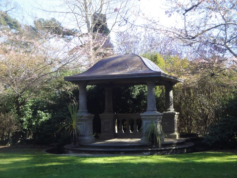 Charming gazebo, perfect for weddiings