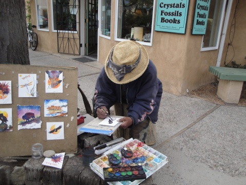 Artist from the Taos Peublo