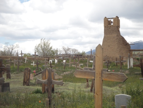 Original San Geronimo Church and cemetery