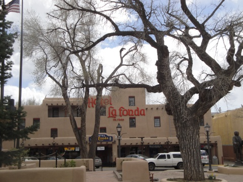 La Fonda Hotel across from the Taos Plaza