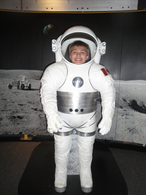At The Space Centre