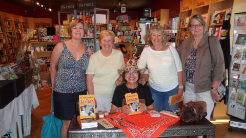 Faithful supporters at the book launch July 2014