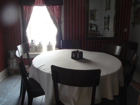 The card room where the guest of #18 was shot