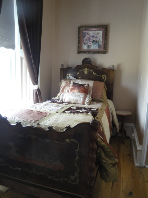 The very room Wyatt Earp slept in