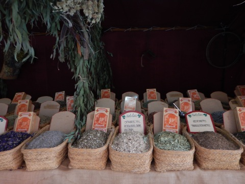 A huge variety of spices