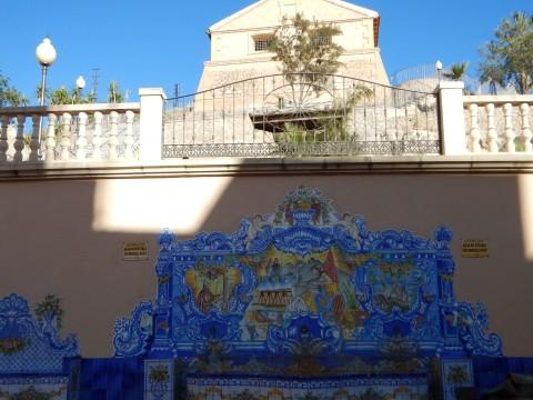 ornate water fountain