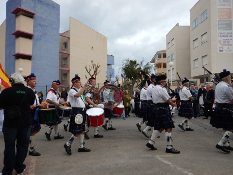 I love a pipe band