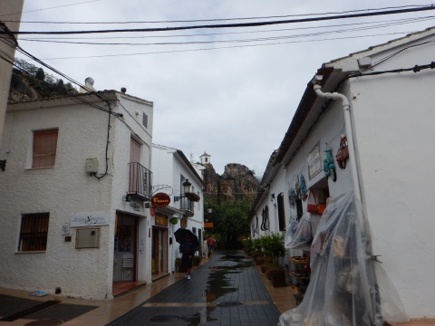 The streets of Guadalest