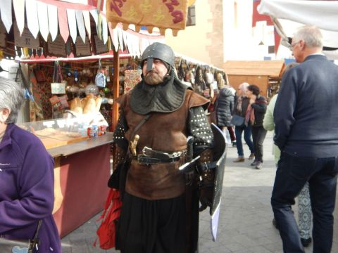 You never know when you may encounter a knight