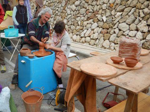 Pottery lesson