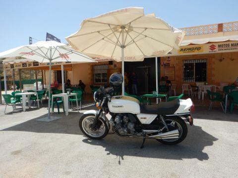 A Spanish biker bar.