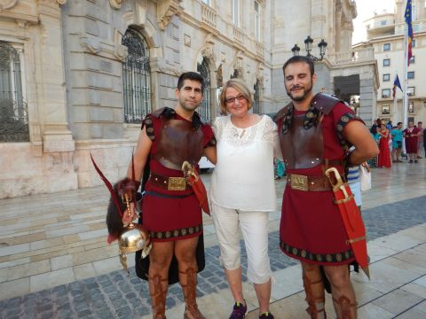 Hanging out with gladiators at the Roman Feista