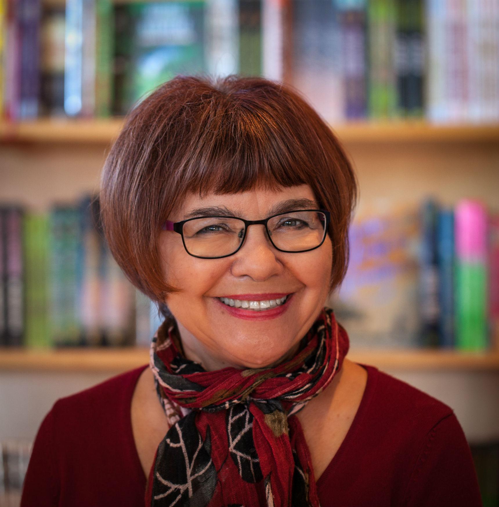 Darlene Foster, a children's author, picture